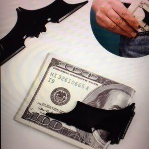 Batman Magnetic Wallet Money Clip/New
